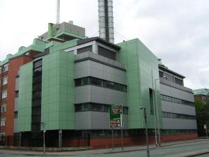 Photograph of the department of Chemistry where the core of OMIC is housed.